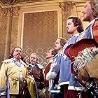 Gene Kelly, Van Heflin, Robert Coote, Frank Morgan, Reginald Owen, and Gig Young in The Three Musketeers (1948)