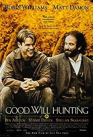 Robin Williams and Matt Damon in Good Will Hunting (1997)