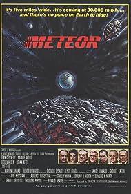 Henry Fonda, Natalie Wood, Sean Connery, Brian Keith, Martin Landau, Karl Malden, and Trevor Howard in Meteor (1979)