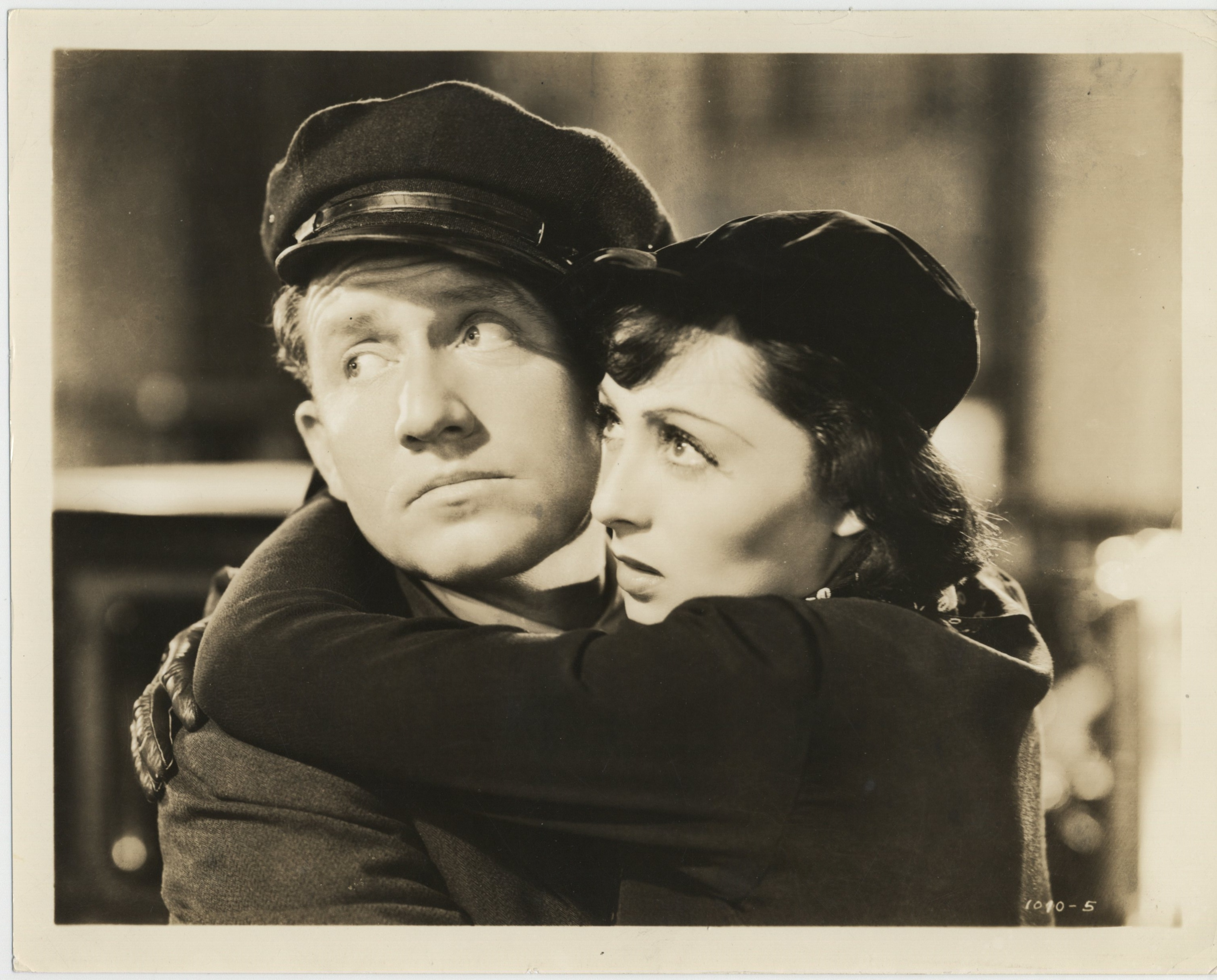 Spencer Tracy and Luise Rainer in Big City (1937)