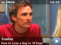How To Lose A Guy In 10 Days 2003 Imdb
