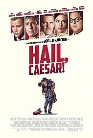 George Clooney, Josh Brolin, Scarlett Johansson, Channing Tatum, and Jonah Hill in Hail, Caesar! (2016)