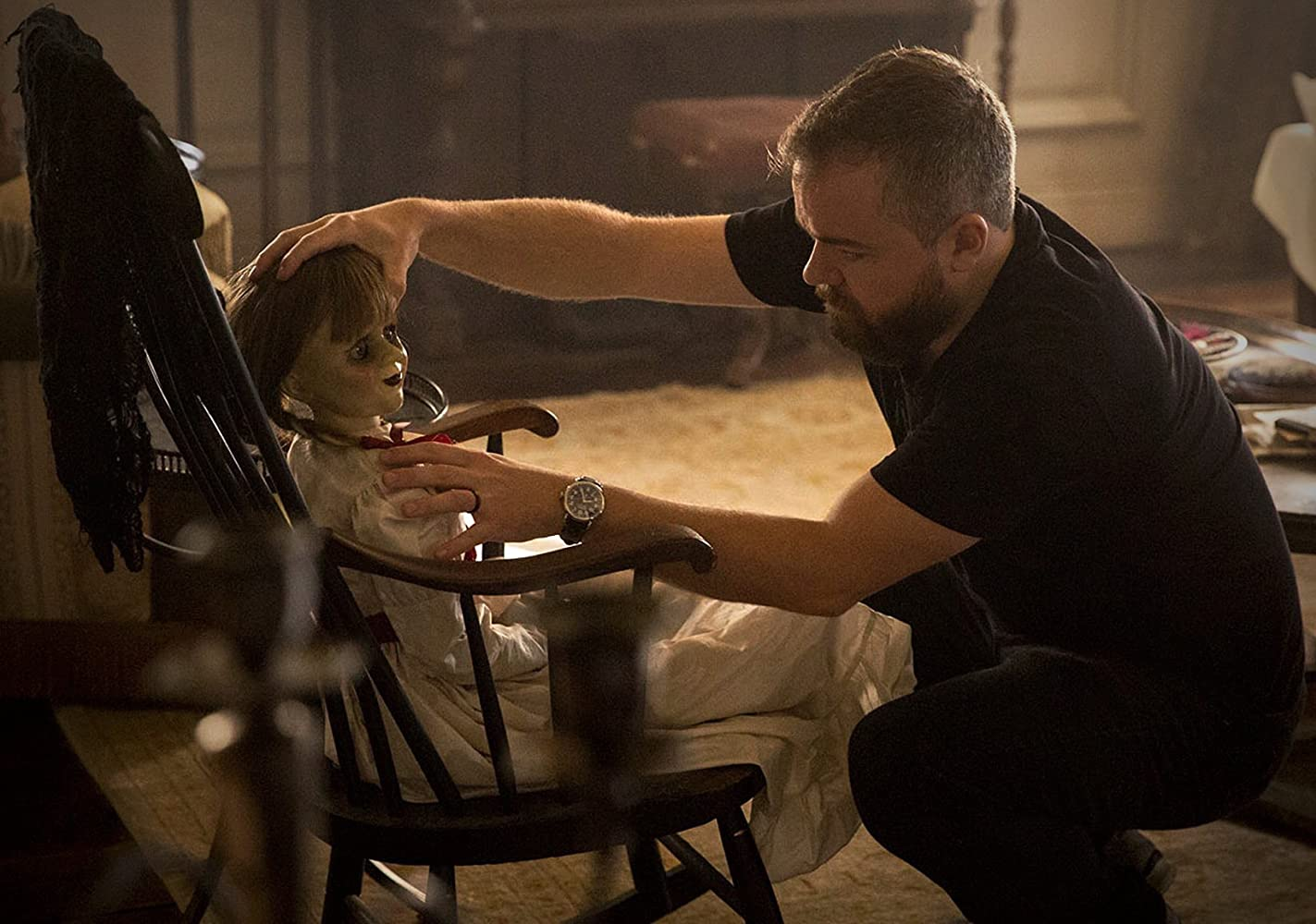 David F. Sandberg in Annabelle: Creation (2017)