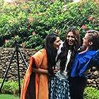Jayaka Yagnik, Alisha Prajapati, and Caroline Wilde in Loveyatri (2018)