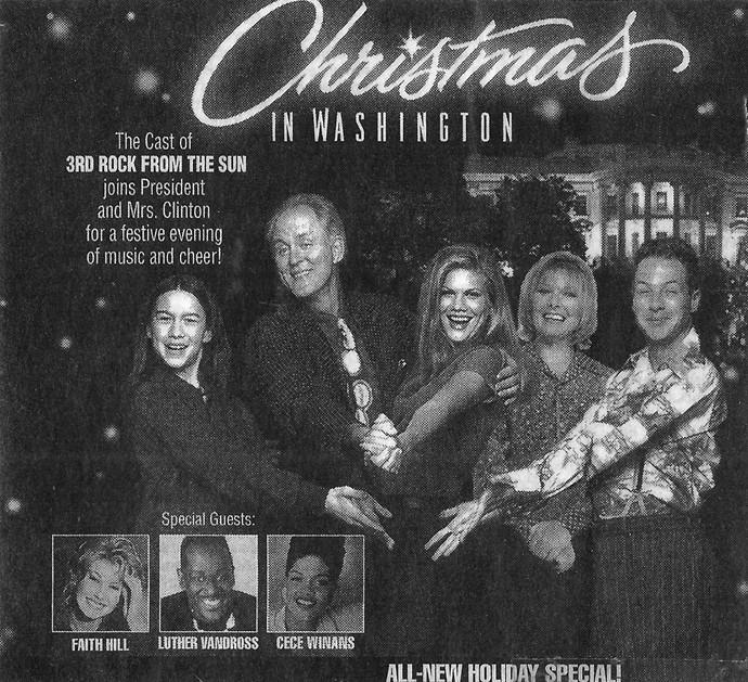 Luther Vandross Christmas.Christmas In Washington 1996 Imdb
