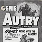 Gene Autry and Champion in Texans Never Cry (1951)