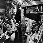 Charlton Heston and Edward G. Robinson in Soylent Green (1973)
