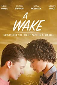 Kolton Stewart, Noah Urrea, and Sofia Rosinsky in A Wake (2019)