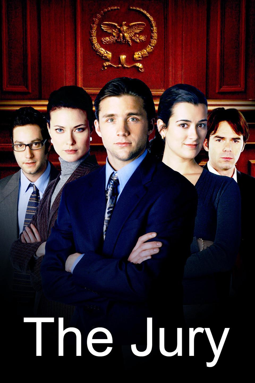 Billy Burke, Adam Busch, Shalom Harlow, Jeff Hephner, and Cote de Pablo in The Jury (2004)