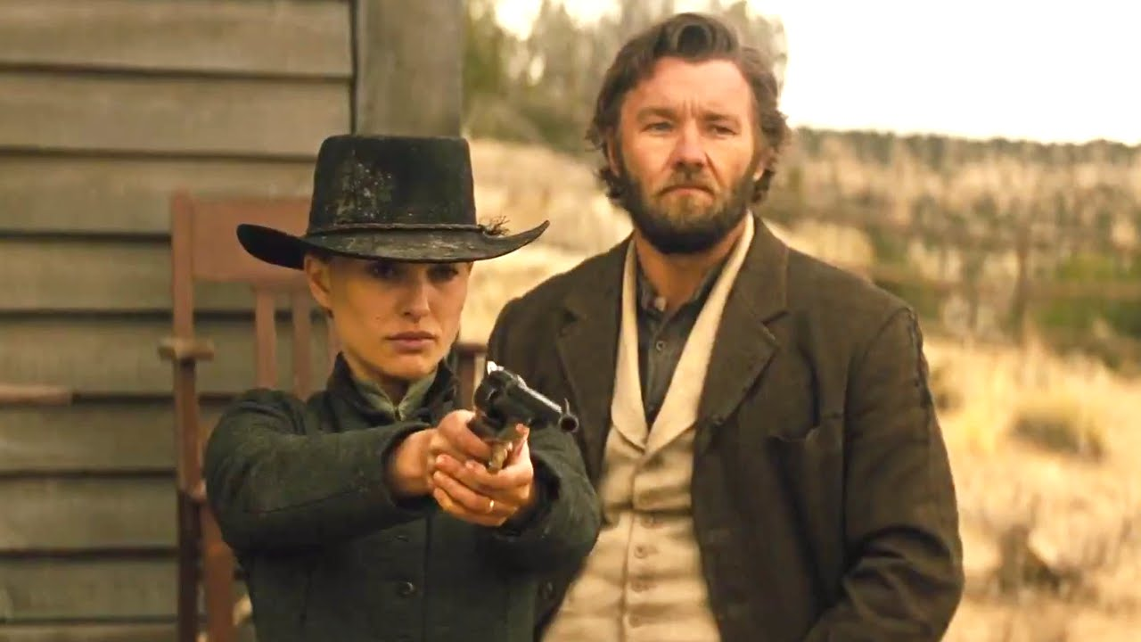 Natalie Portman and Joel Edgerton in Jane Got a Gun (2015)