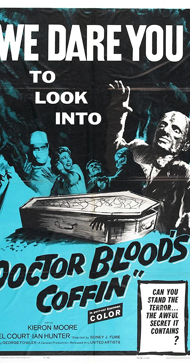 Subtitle of Doctor Blood's Coffin