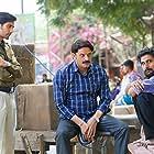 Jaideep Ahlawat, Amarjeet Singh, and Ishwak Singh in The past is prologue (2020)