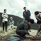 Bryan Shu-Hao Chang, Man-shu Jian, Yen Tsao, Allen Chen, Chun-Haw Hsu, Ke-Fang Sun, and Sheng-Ping Chu in Close Your Eyes Before It's Dark (2016)