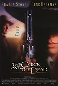 Sharon Stone and Gene Hackman in The Quick and the Dead (1995)