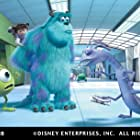 Steve Buscemi, Billy Crystal, John Goodman, and Mary Gibbs in Monsters, Inc. (2001)