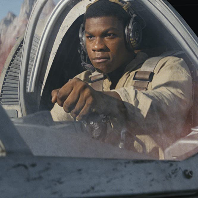John Boyega in Star Wars: The Last Jedi (2017)