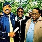 "Still Photographes of ""Johnson   Family Vacation"" -Steve Harvey, Christopher Erskin, Director and Cedric The Entertainer"