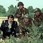 Erik Colin, Jean Lefebvre, and Pierre Mondy in On a retrouvé la 7ème compagnie ! (1975)