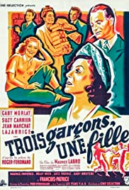 Three Boys, One Girl Poster