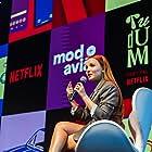 Larissa Manoela at an event for Modo Avião (2020)
