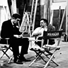"""""""A Face in the Crowd"""" Andy Griffith and Director Elia Kazan on the set"""
