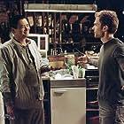 Chow Yun-Fat and Seann William Scott in Bulletproof Monk (2003)