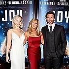 Bradley Cooper, Joy Mangano, and Jennifer Lawrence in Joy (2015)