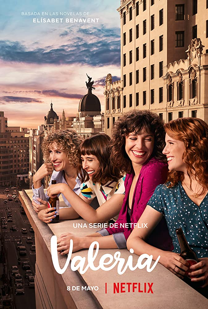 Diana Gómez, Silma López, Teresa Riott, and Paula Malia in Valeria (2020)