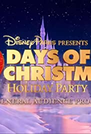 Disney Parks Presents a 25 Days of Christmas Holiday Party Poster