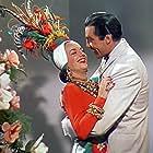 Carmen Miranda and Cesar Romero in Week-End in Havana (1941)