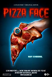 Pizza Face Poster