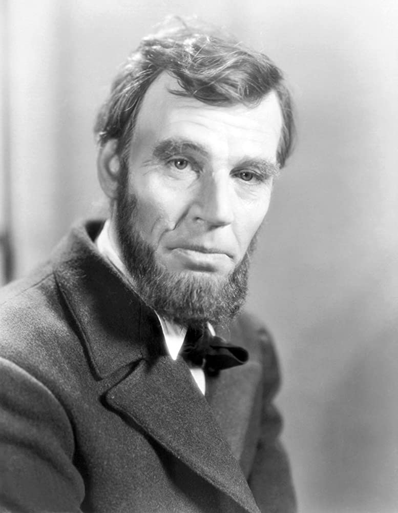 Walter Huston in Abraham Lincoln (1930)