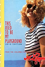 Madonna: This Used to Be My Playground Poster