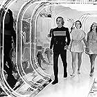 Jenny Agutter, Farrah Fawcett, and Michael York in Logan's Run (1976)