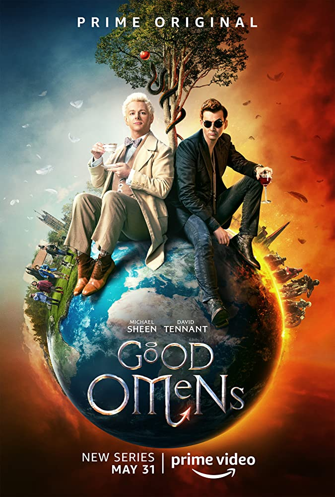 Michael Sheen and David Tennant in Good Omens (2019)