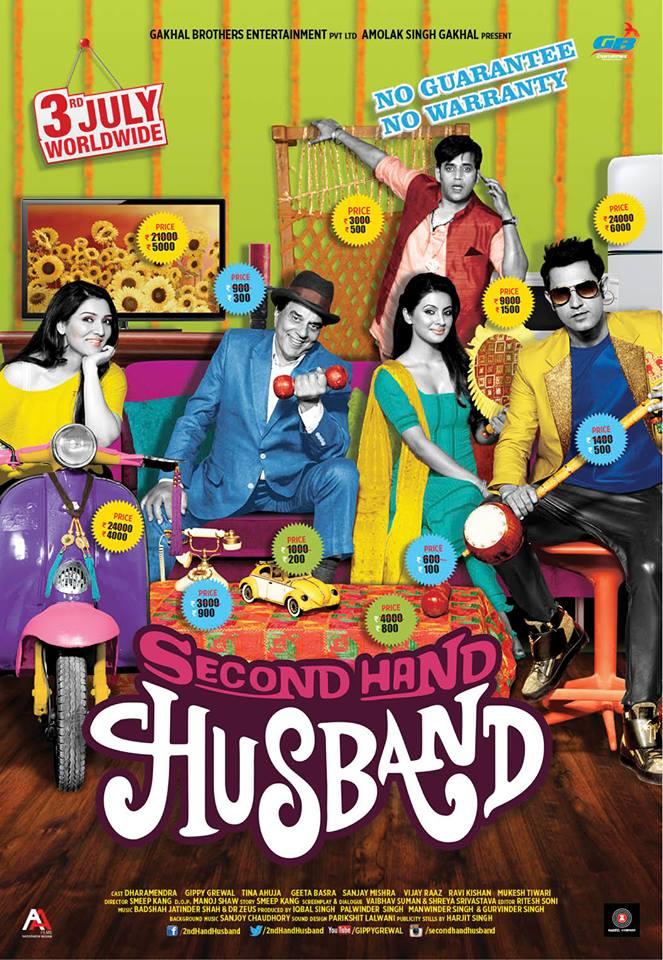 Second Hand Husband 2015 Hindi Movie 250MB MX HDRip 480p ESubs Download