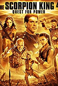 Victor Webster, Ellen Hollman, Eve Torres, and Roy Nelson in The Scorpion King: The Lost Throne (2015)