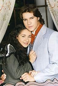 Daniela Alvarado and Adrián Delgado in Mujercitas (1999)