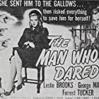 Leslie Brooks and George Macready in The Man Who Dared (1946)