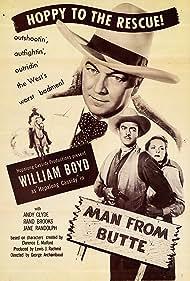 Steve Barclay, William Boyd, and Jane Randolph in Fool's Gold (1946)