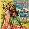 Janet Blair and Louis Hayward in The Black Arrow (1948)