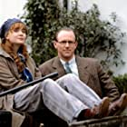 Lysette Anthony and Peter Davison in Campion (1989)