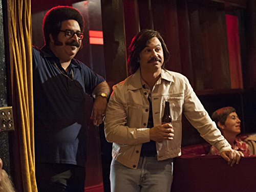 Al Madrigal and Erik Griffin in I'm Dying Up Here (2017)