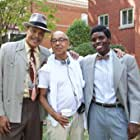 Behind the Scenes still of Tian Richards with director George C. Wolfe & L. Warren Young in The Immortal Life of Henrietta Lacks (2017)