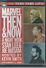 Marvel Then and Now: An Evening with Stan Lee and Joe Quesada Poster