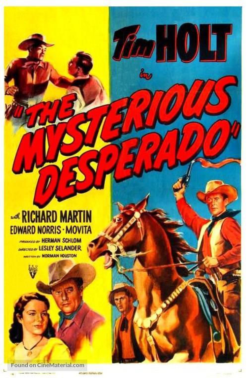 Tim Holt, Richard Martin, and Movita in The Mysterious Desperado (1949)