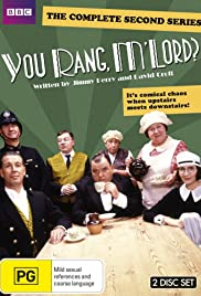 You Rang, M'Lord? Poster - TV Show Forum, Cast, Reviews