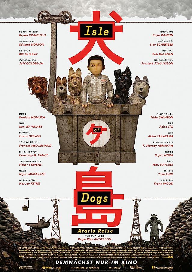 Isle of Dogs (2018) Hindi Dubbed