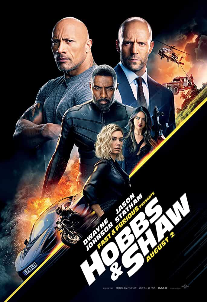 Fast And Furious Presents: Hobbs And Shaw (2019)  [Dual Audio] [Hindi (Cleaned) or English] 720p HCHDRip [990MB]