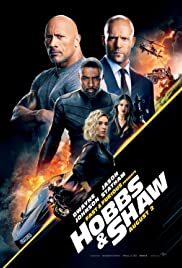Movie Poster for Hobbs & Shaw.